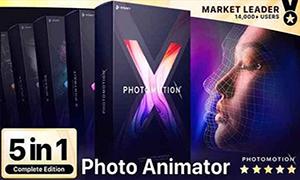 AE模板- Photomotion X- 照片转3D动画