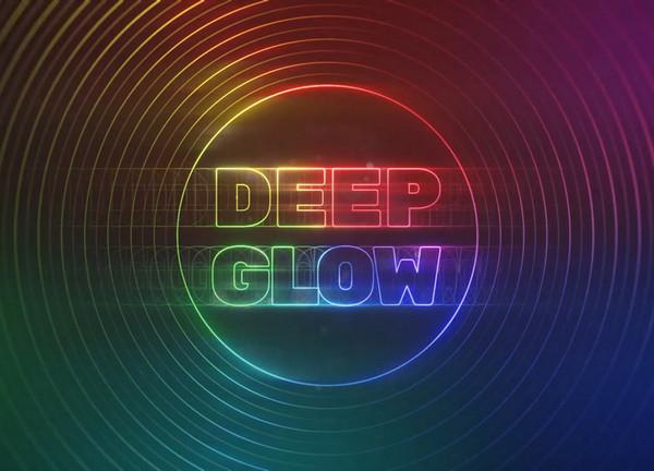 辉光发光AE插件Deep_Glow_v1.3 win/mac
