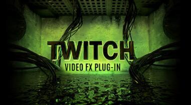 AE插件-信号干扰Twitch